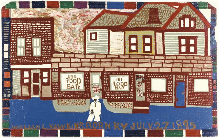 Food Bar, 1980 - William Hawkins