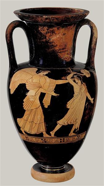 Terracotta Nolan Neck Amphora (jar), c.460 BC - Ancient Greek Pottery