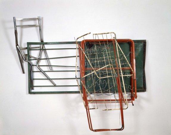 Greenhouse Glut (Neapolitan), 1987 - Robert Rauschenberg