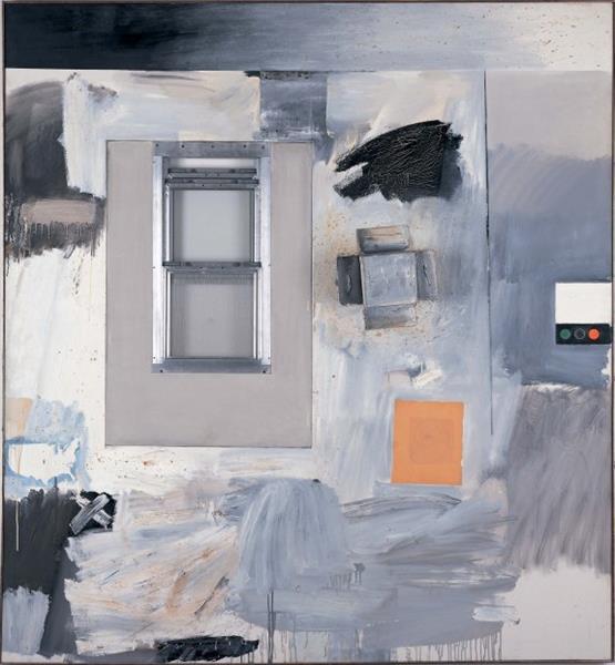 Trophy V (for Jasper Johns), 1962 - Robert Rauschenberg