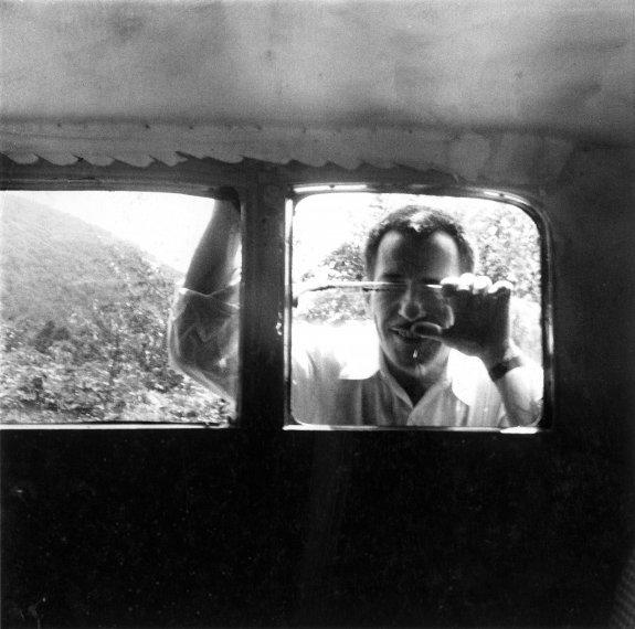 Untitled [Franz Kline, Black Mountain], 1952 - Robert Rauschenberg