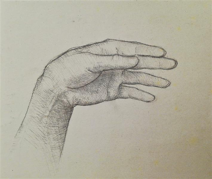 The study of the hand, 1993 - Alfred Freddy Krupa
