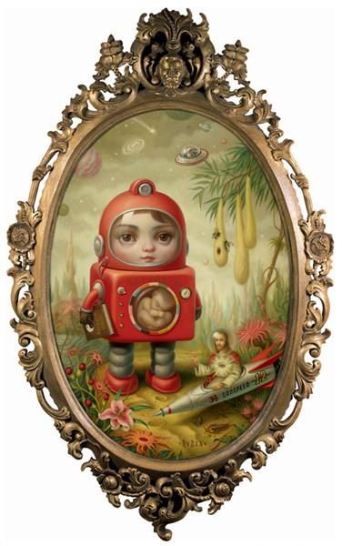 Princess Sputnik, 1998 - Mark Ryden