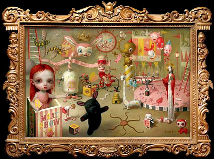 The Magic Circus, 2001 - Mark Ryden