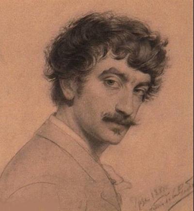 Autorretrato, c.1895 - Antonio de la Gándara