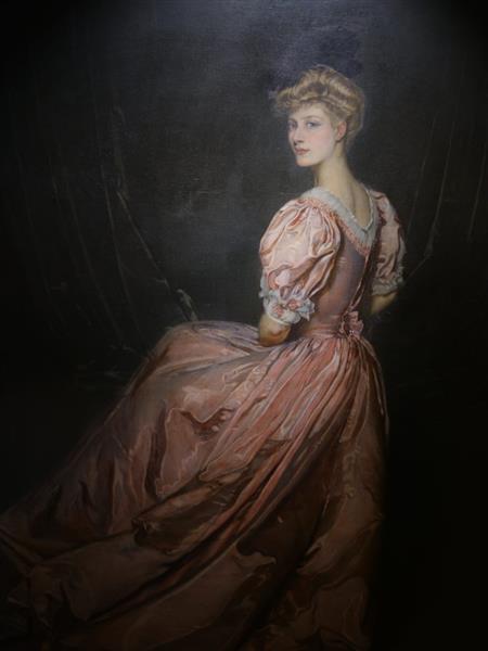 Femme En Rose, 1905 - Antonio de La Gándara