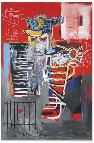 La Hara, 1981 - Jean-Michel Basquiat