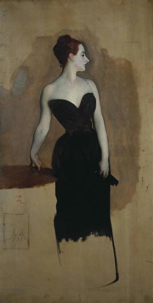 Study of Mme Gautreau, 1884 - John Singer Sargent