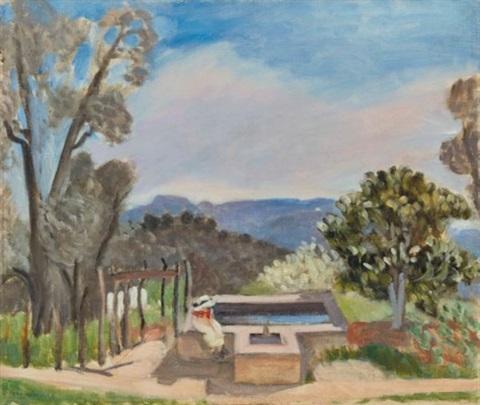 Le Vivier (Paysage De Provence), 1923 - Henri Matisse