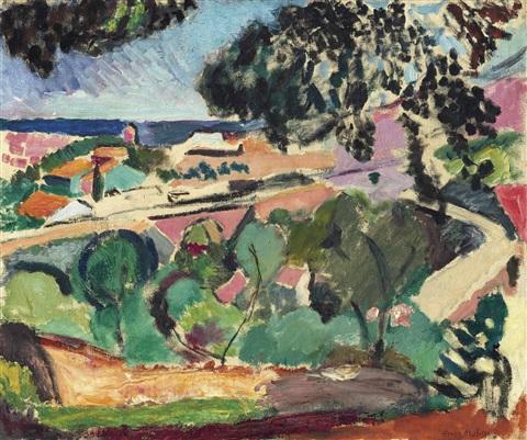 Paysage De Collioure, c.1907 - Henri Matisse