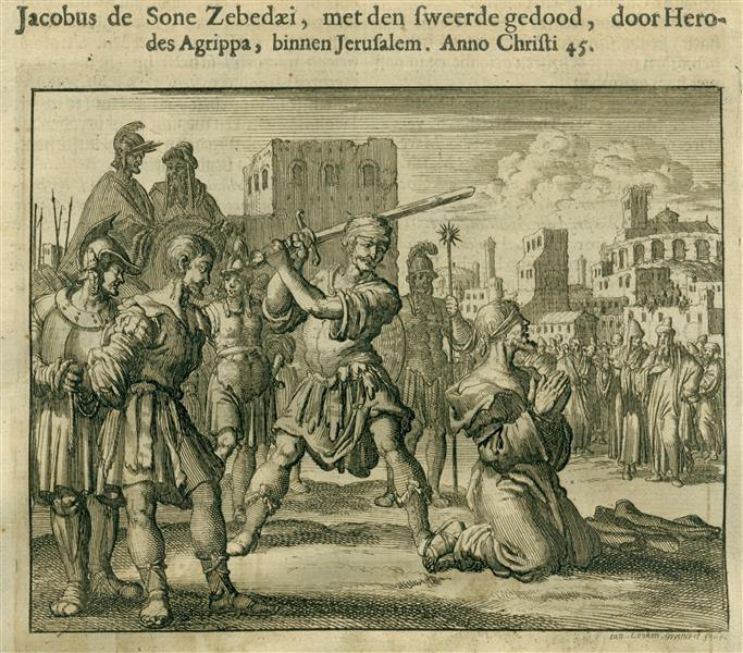 Apostle James Beheaded, AD 45, 1685 - Jan Luyken