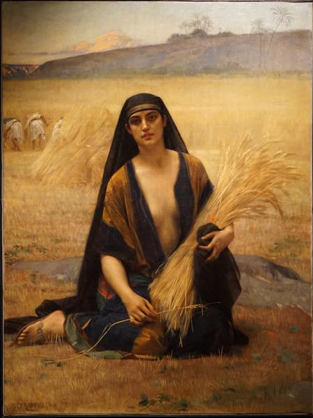Ruth Gleaning - Alexandre Cabanel