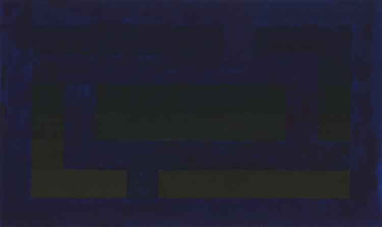 Color study B-1, 2019 - Thiago Boecan