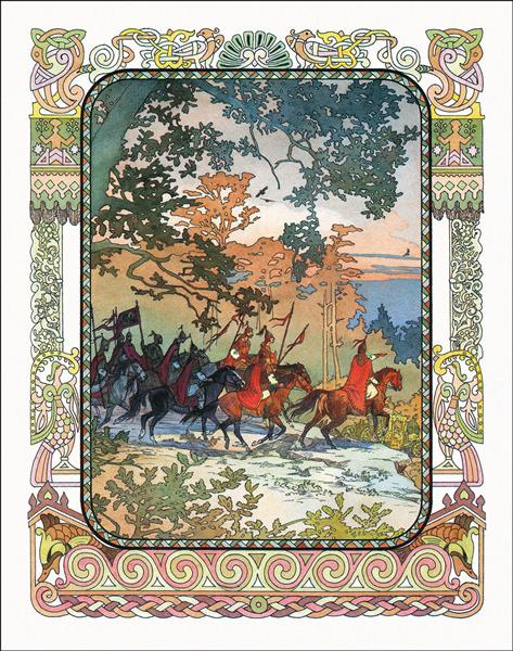 Illustration for The Golden Cockerel - Vyacheslav Nazaruk