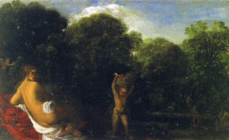 Venus and Cupid, 1605 - Adam Elsheimer