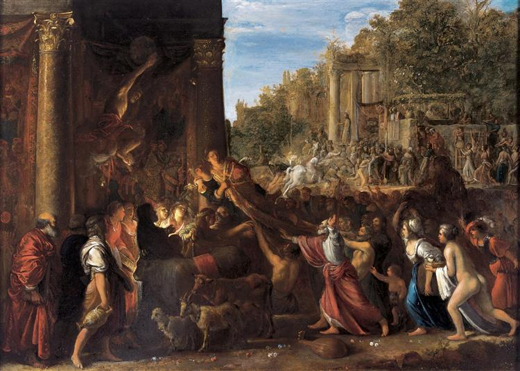 Il Contento, 1607 - Adam Elsheimer