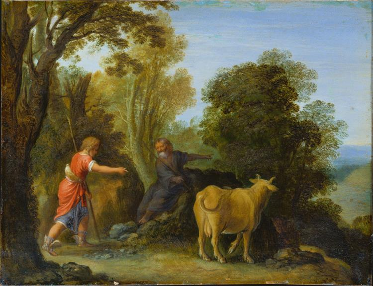 Mercury and Battus - Adam Elsheimer