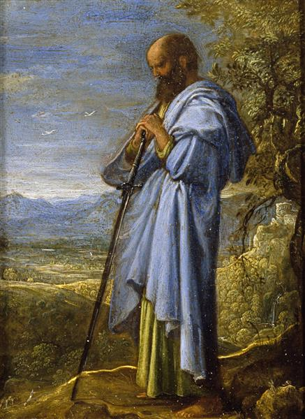 Saint Paul, 1605 - Adam Elsheimer