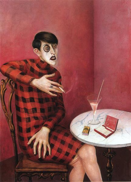 Portrait of the Journalist Sylvia Von Harden, 1926 - Otto Dix