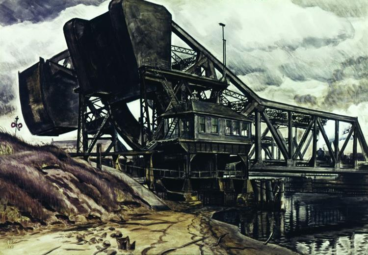 Black Iron - Charles E. Burchfield
