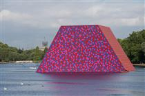 The London Mastaba, Serpentine Lake, Hyde Park - Christo and Jeanne-Claude