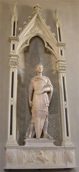 Saint George, 1415 - 1417 - Donatello