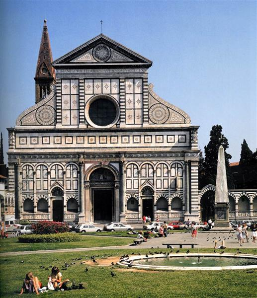 Santa Maria Novella (Florence), 1458 - 1470 - Leon Battista Alberti