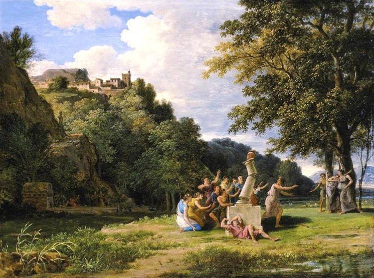 Arcadian Landscape - Pierre-Henri de Valenciennes