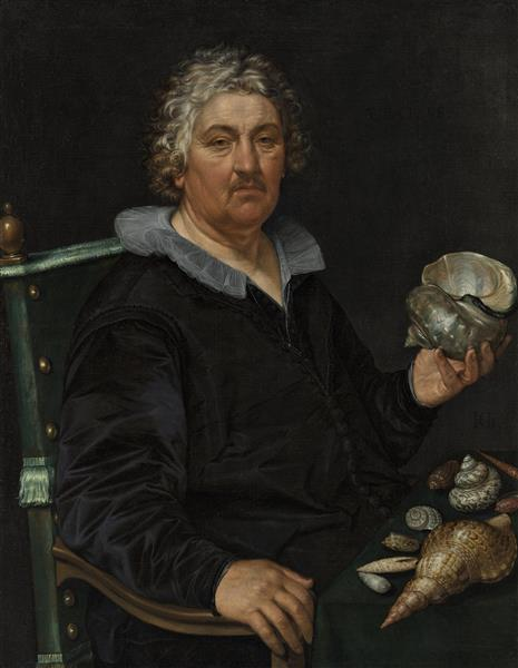Portrait of Jan Govertsen Van Der Aer, 1603 - Hendrick Goltzius
