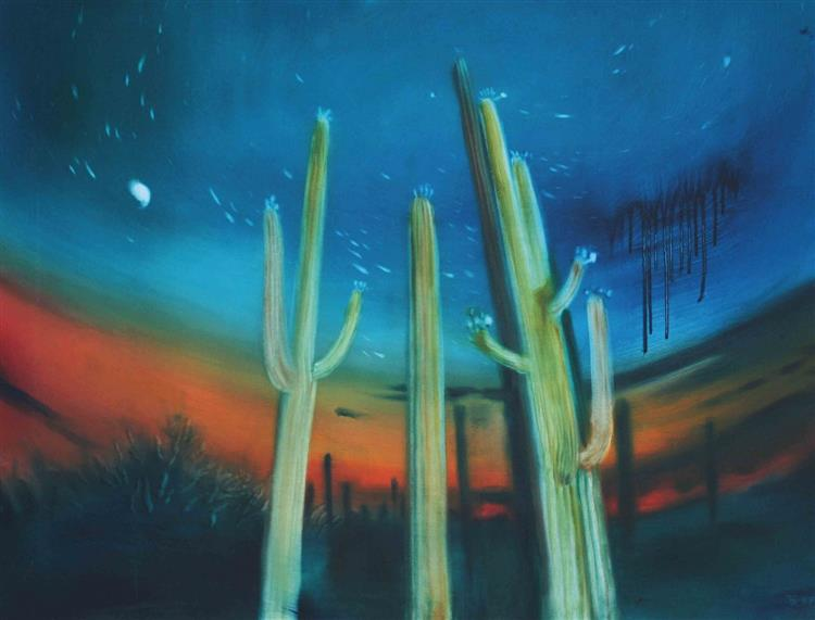 Sky over the Desert, 1999 - Valeria Trubina