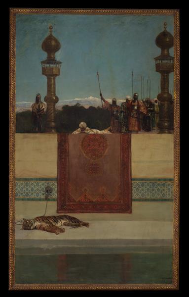 The Sultan's Tiger - Benjamin Constant