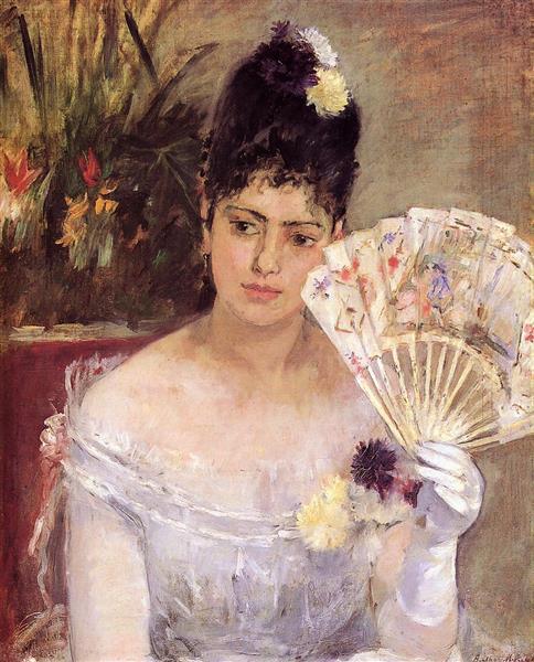 Au Bal, 1875 - Berthe Morisot