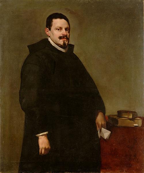 Retrato de Don Sebastián Garcia de Huerta, 1628 - Diego Velazquez