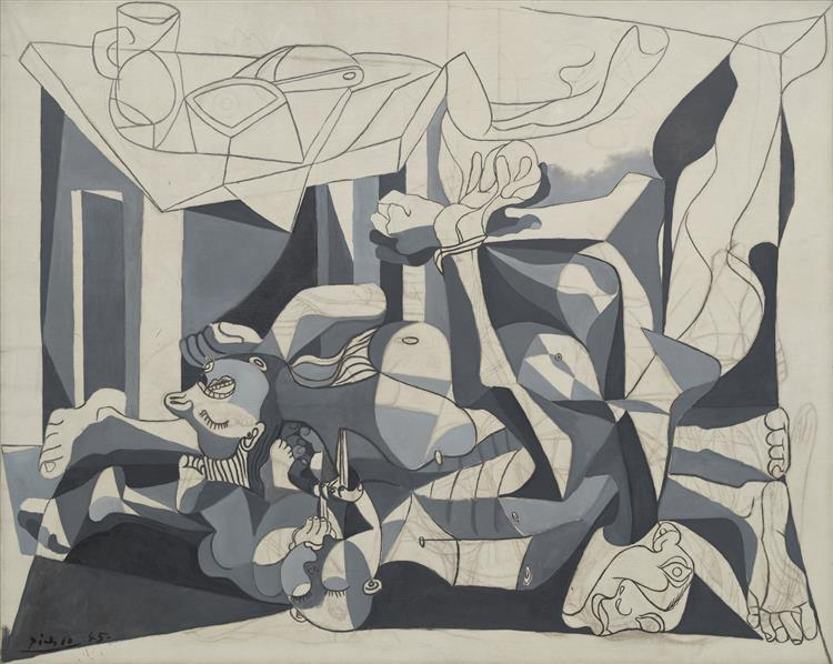 The Charnel House, 1944 - 1945 - Pablo Picasso