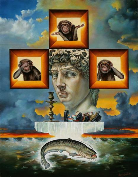 Ode to Michelangelo - Iurie Matei