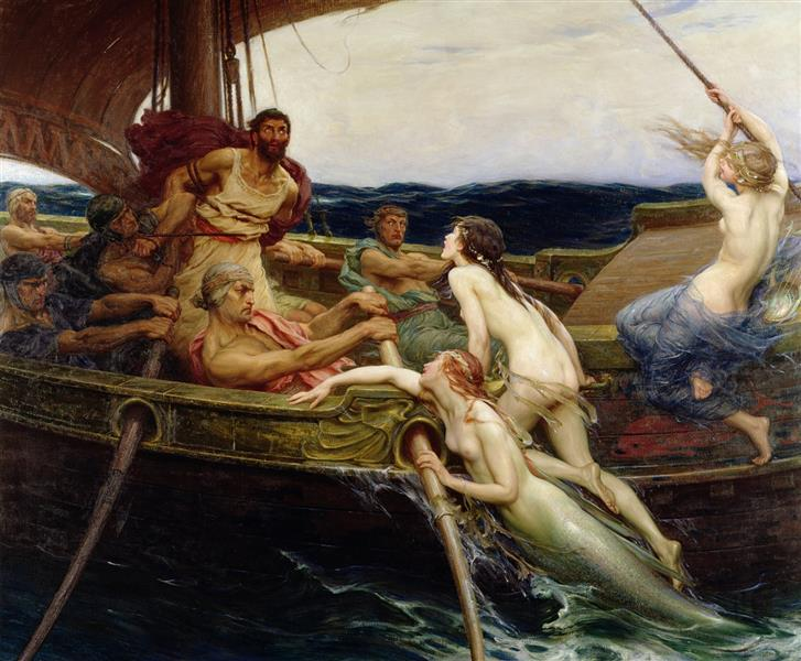 Ulysses and the Sirens, 1909 - Herbert James Draper