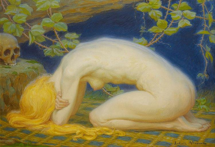 Mary Magdalene, 1927 - Ludovic Alleaume