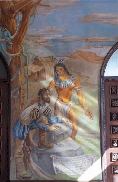 Detalle mural, 1941 - Vela Zanetti