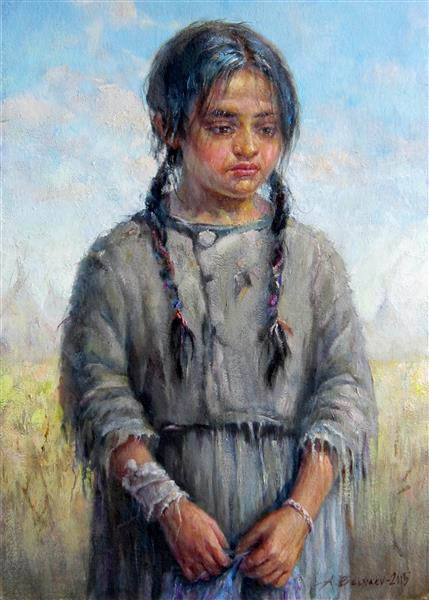 INDIAN GIRL, 2015 - Aleksander Belyaev
