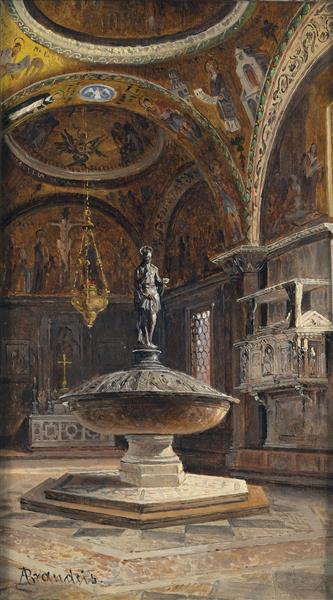 Battistero Di San Marco, 1910 - Antonietta Brandeis