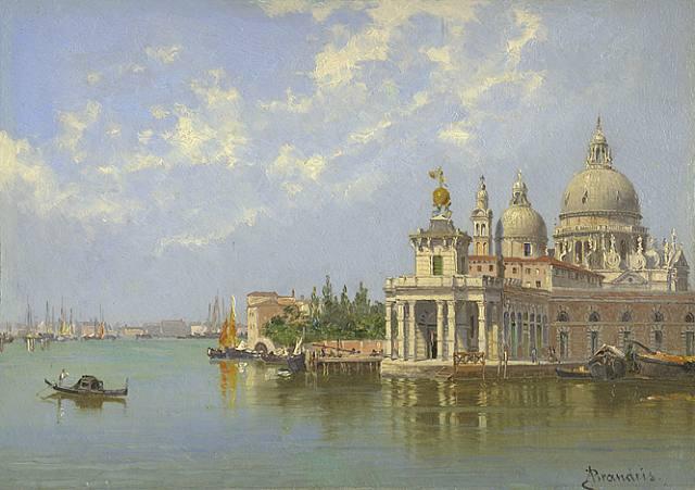 The Piazzetta, Venice - Antonietta Brandeis