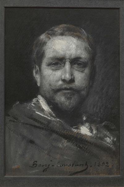 Self-portrait - Benjamin Constant