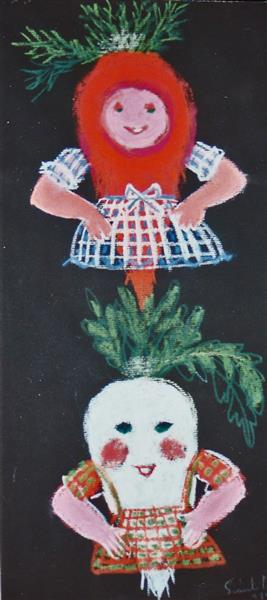 Carrot and Parsnip, 1986 - Piroska Szanto