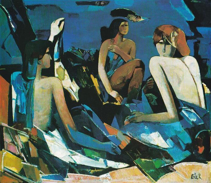 The Bath, 1973 - Rudolf BÉR