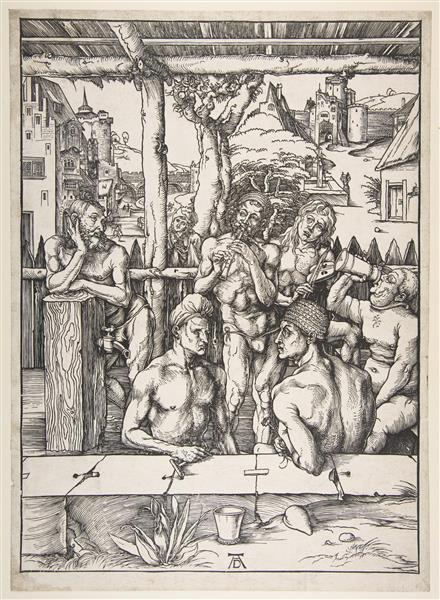 Men's Bath, 1497 - Albrecht Durer