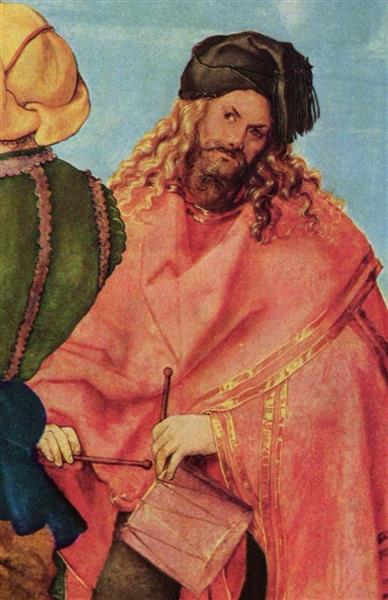 The Jabach Altarpiece (detail, Supposed Self Portrait), 1504 - Albrecht Durer