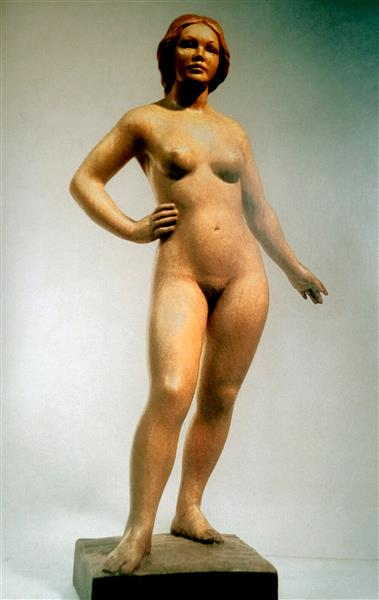 Desnudo Femenino - Francisco Serra Andrés