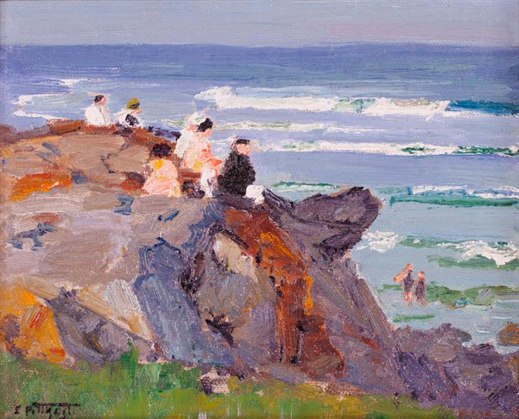By the New England Seashore - Edward Henry Potthast