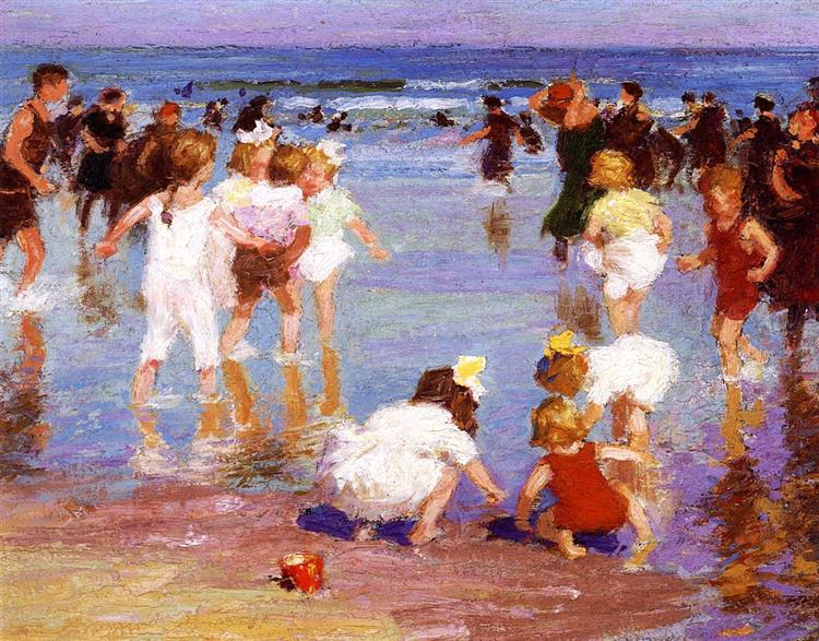 Happy Days, 1920 - Edward Henry Potthast