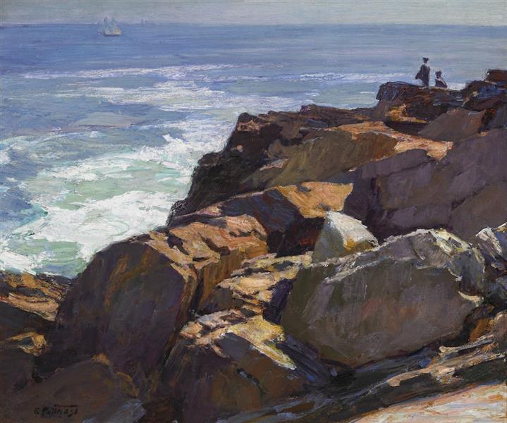 Rockbound Coast, Ogunquit - Edward Henry Potthast
